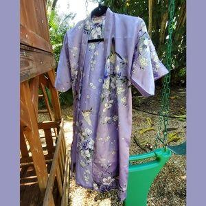 Kid's Lavendar Kimono